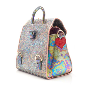 Rainbow Splash Bag Black