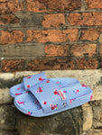 Cath Kidston x Slydes Angria Blue Twill Floral