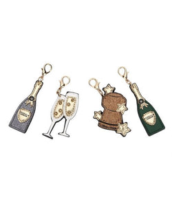 Set of 4 Charms – Champagne
