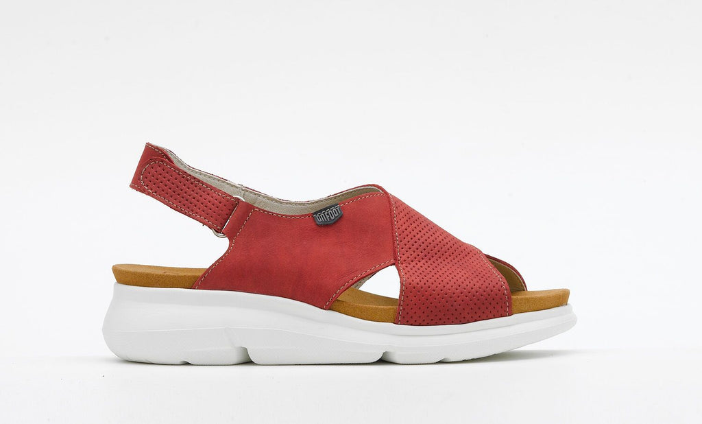 OnFoot 90101 Red Sandal