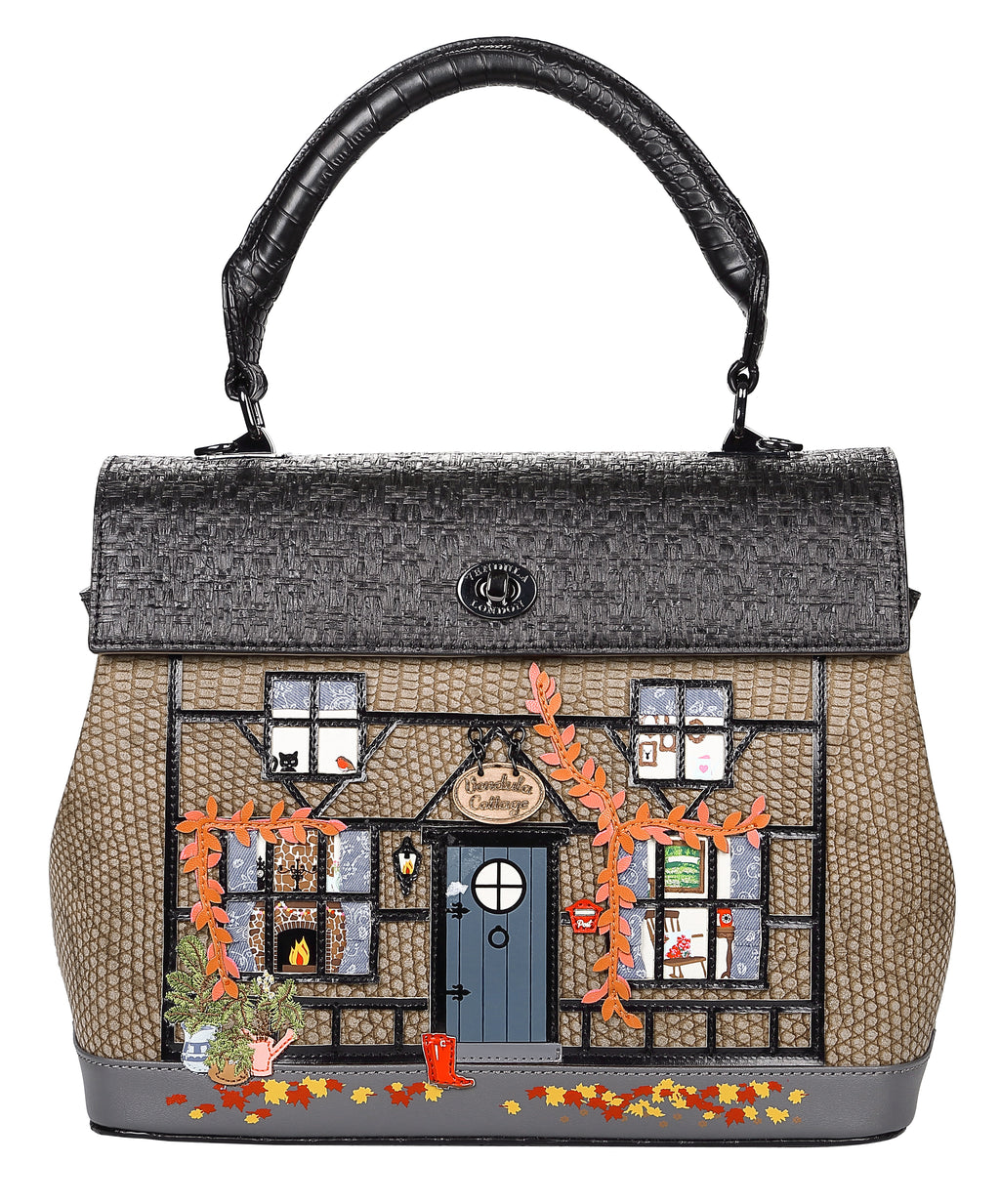 Winter Cottage Grace Bag
