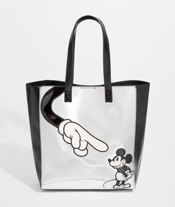DN Mickey Mouse Silver Tote