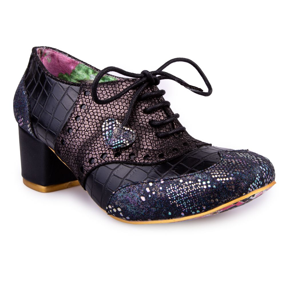 Clara Bow Black Multi