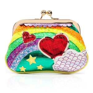 Over the Rainbow Green Purse