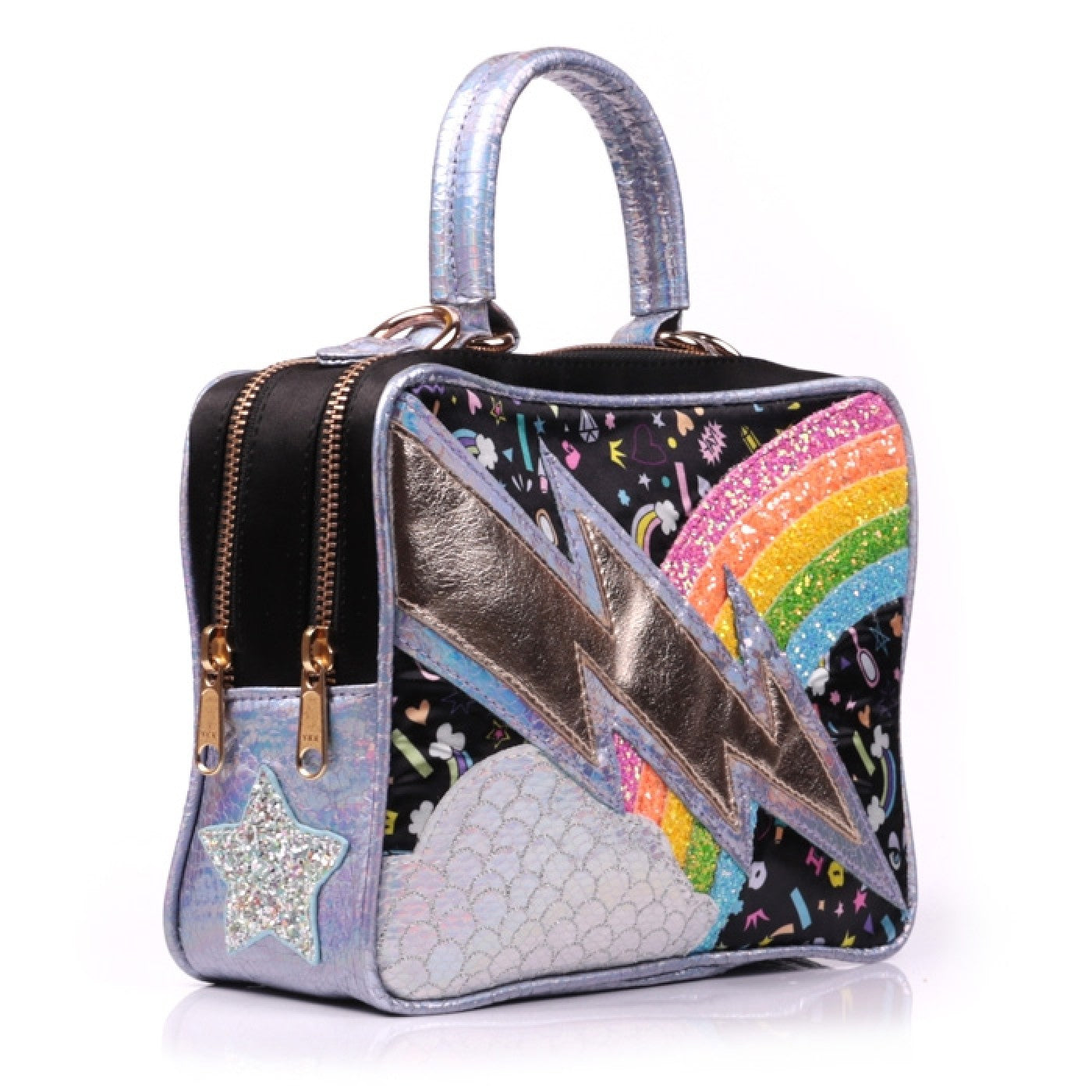 Rainbow Thunder Bag Black