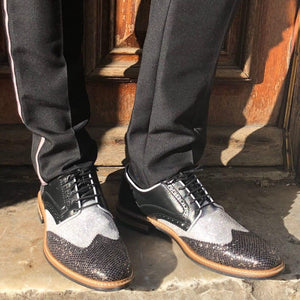 MENS Edwin Black Glitter