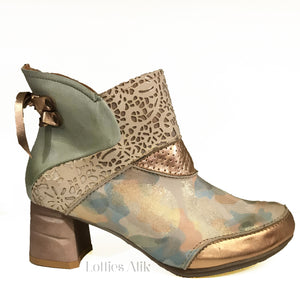 Dollie Gold Boots