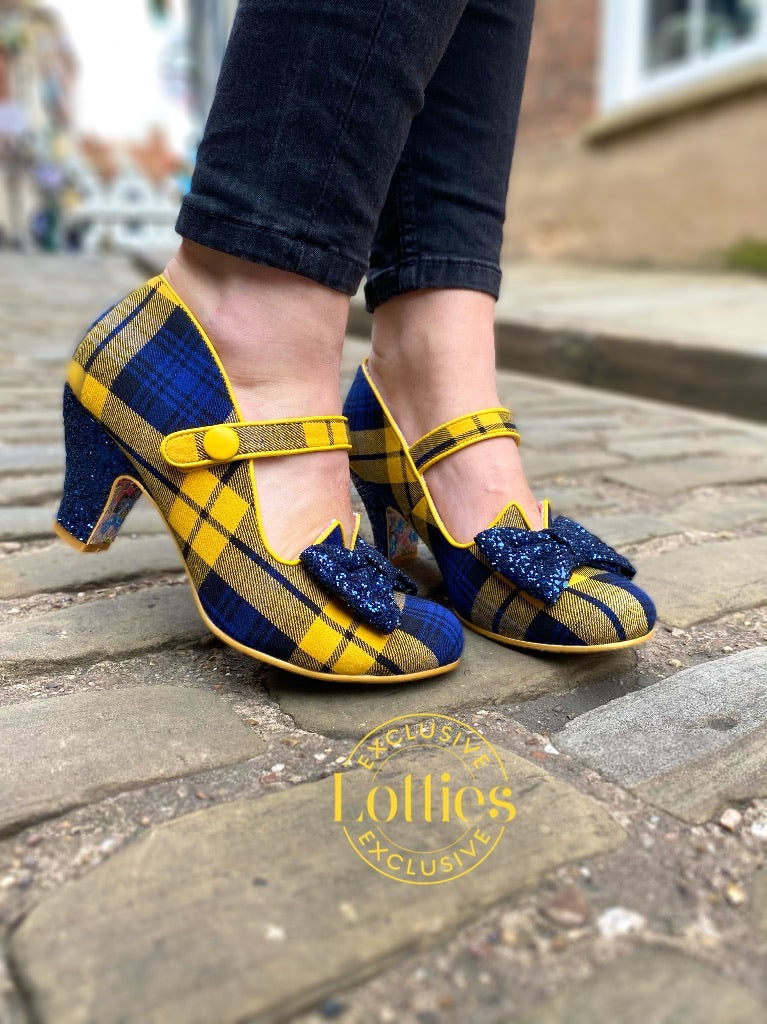 Piccolo Navy Yellow