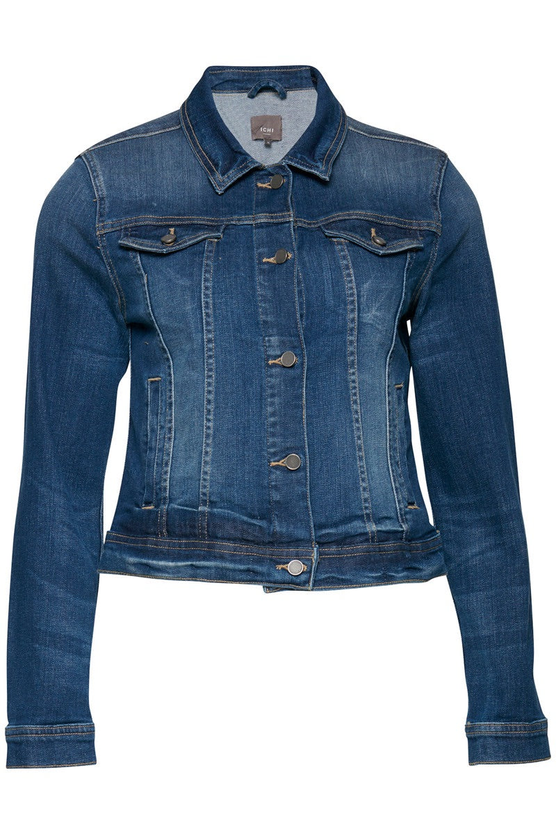 Stamp Denim Jacket