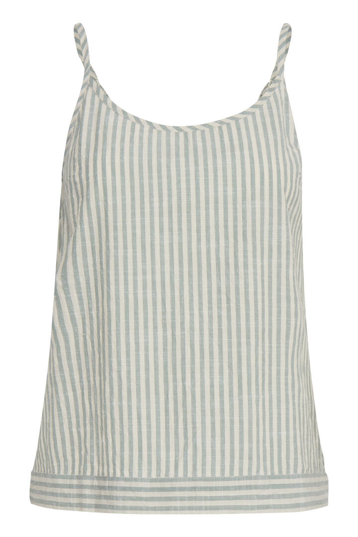Ihtulle Green Stripe Top