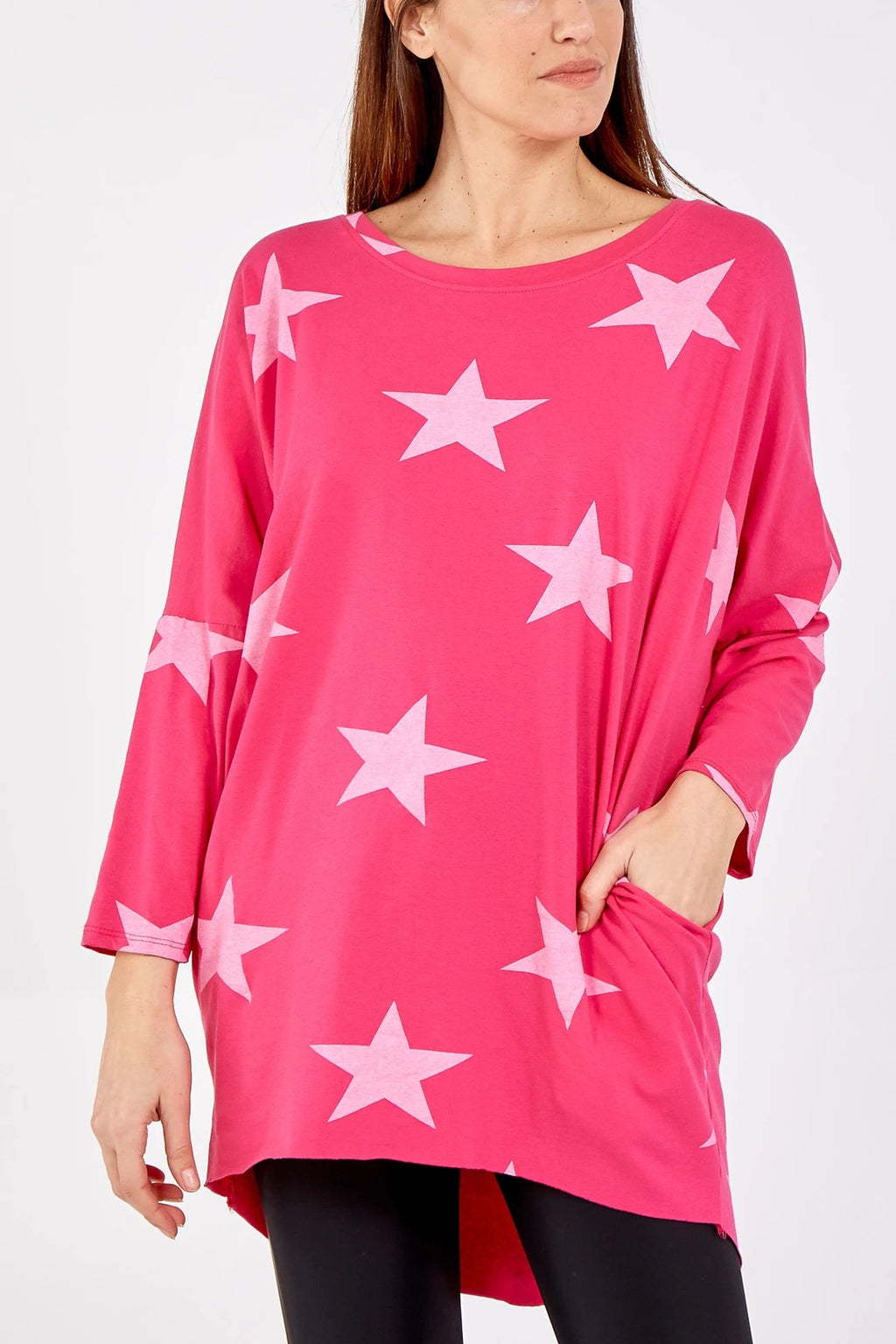 Star Jersey Tunic Top - 6 NEW Colours