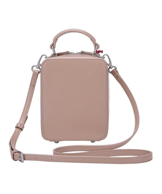 London Cats Crossbody Bag – Beige
