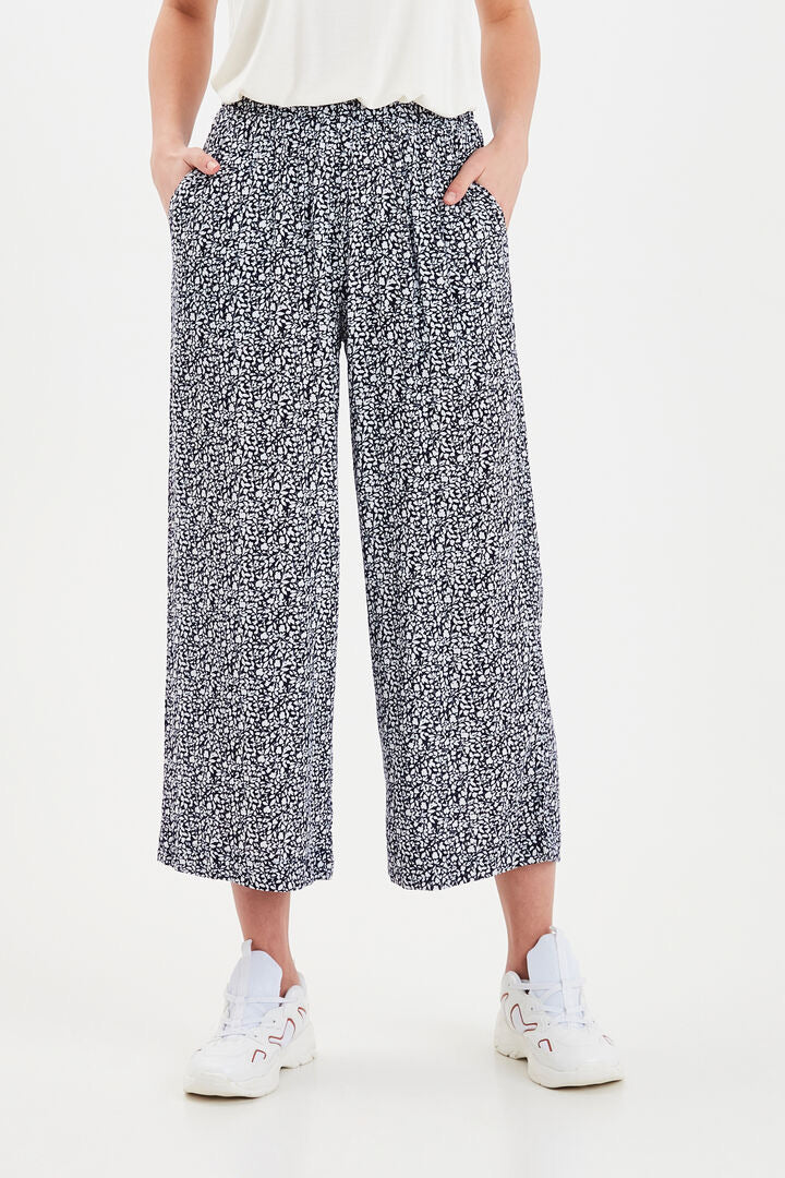 Ihmarrakech Navy Print Culottes