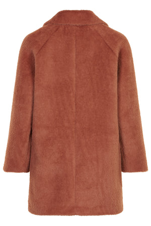 Nubay Faux Fur Teddy Coat