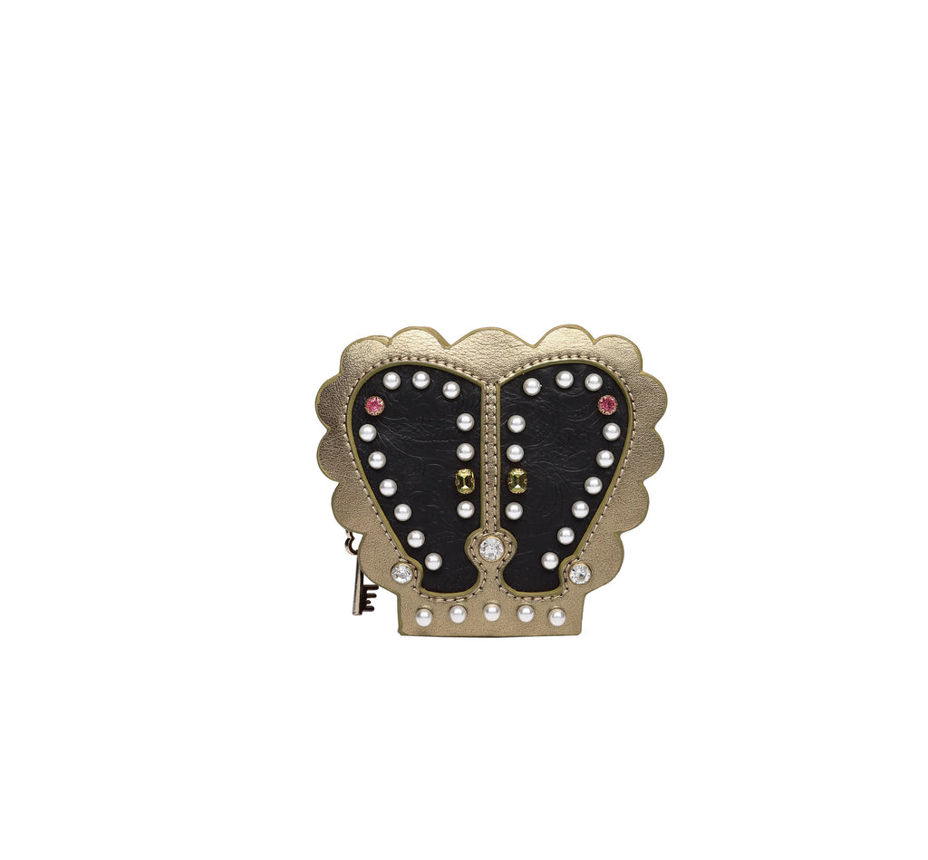 Pearly Queens Crown Shaped Coin Purse