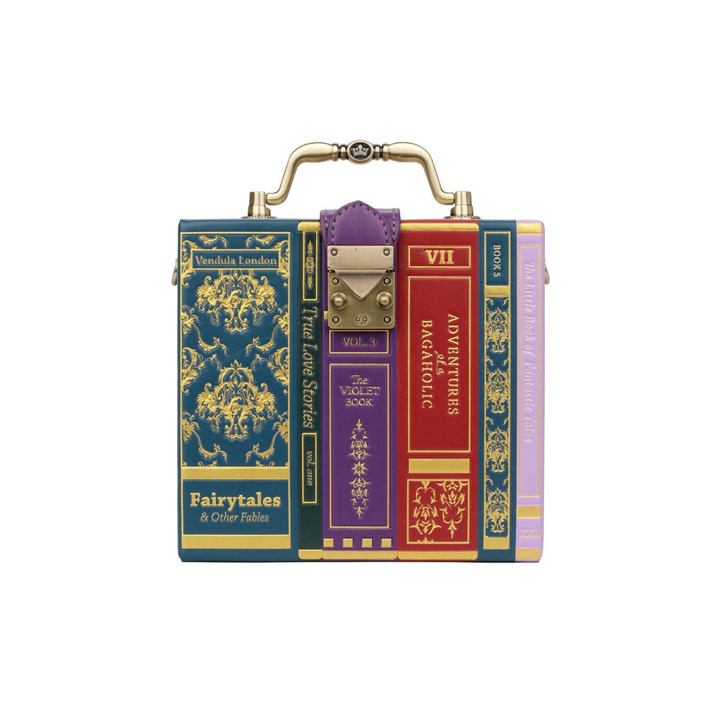 Books Shaped Box Bag