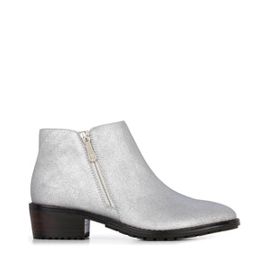 Acton Silver Metallic Waterproof Boots