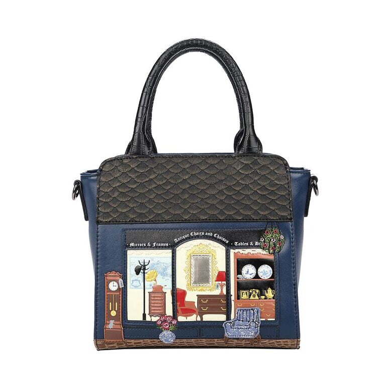 Antiques Shop Mini Tote Bag