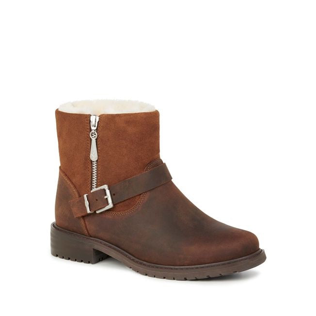 Roadside Brown Waterproof Boots