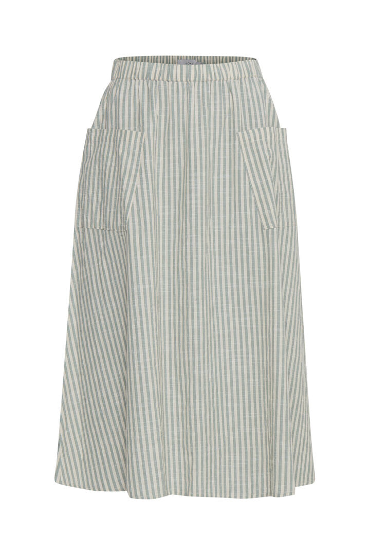 Ihtulle Green Stripe Skirt