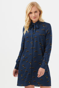 Mischa Stormy Sky Shirt Dress