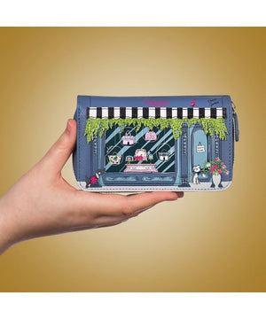 Vendula Street Zipround Wallet