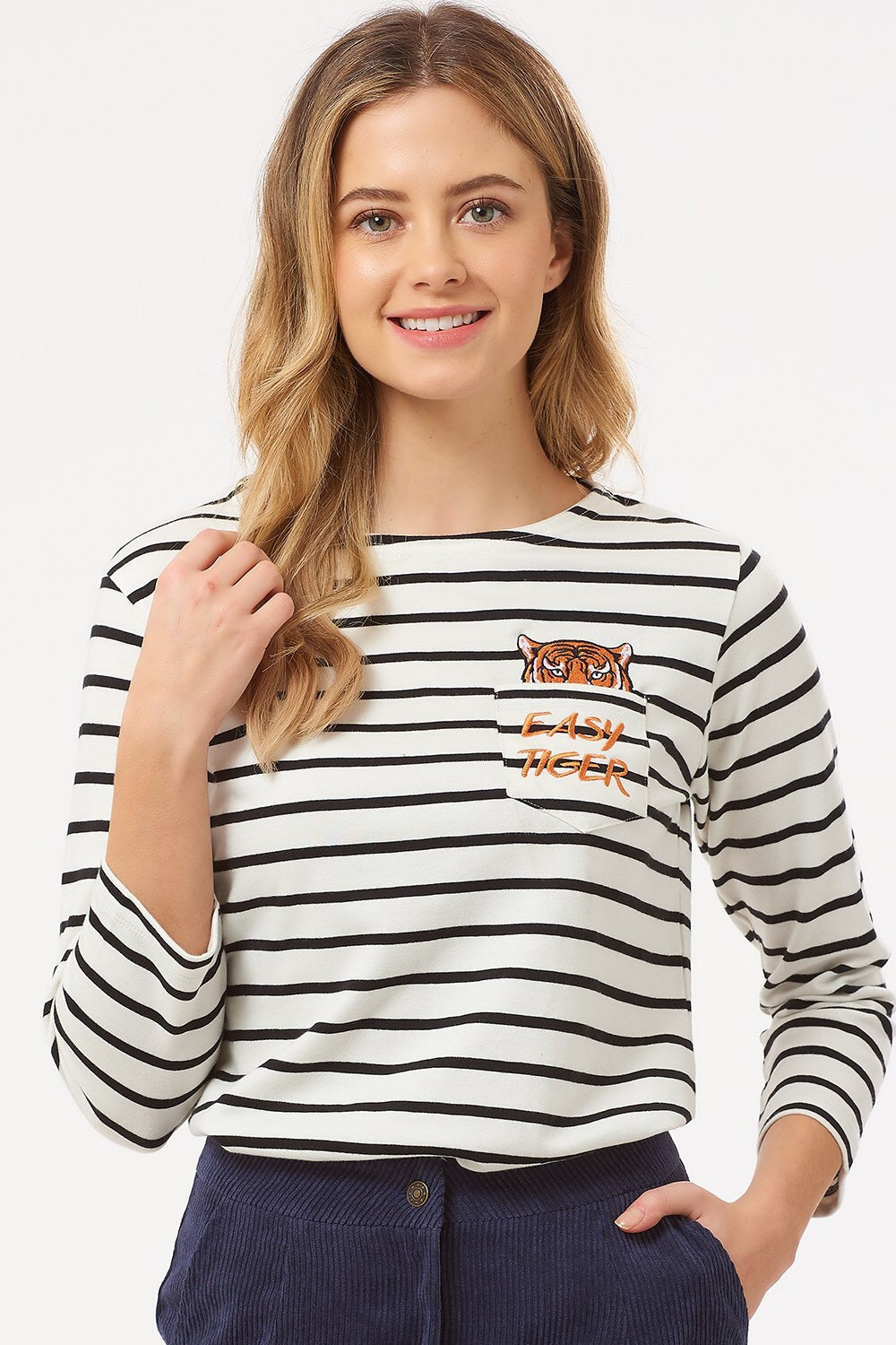 Brighton Easy Tiger Breton Top