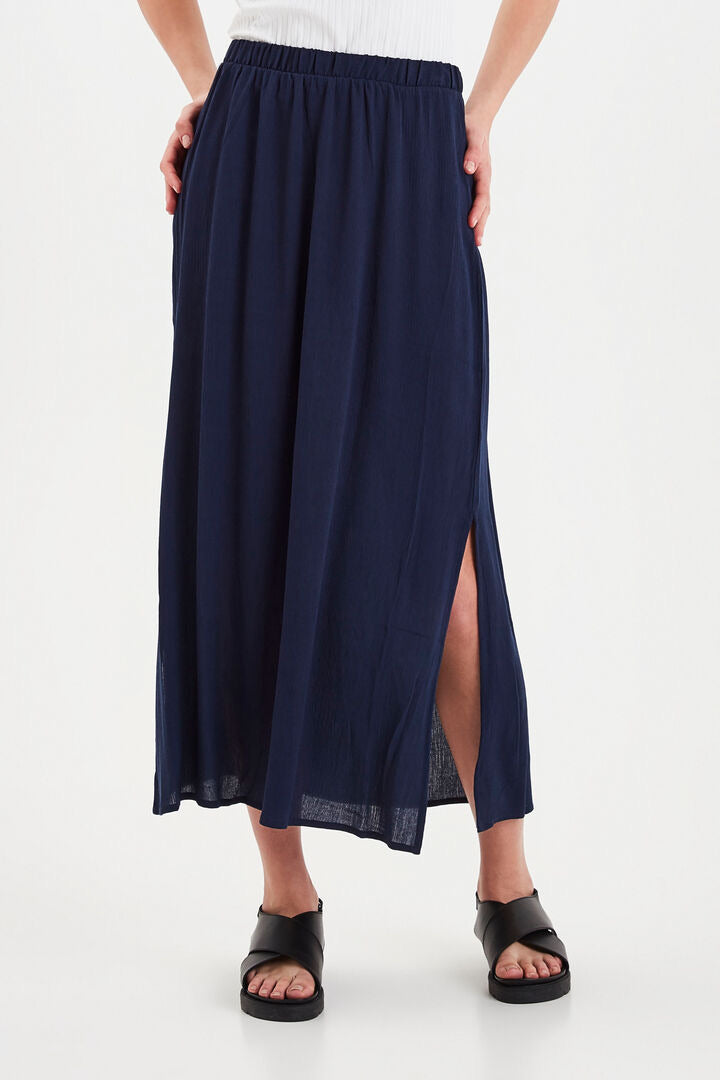 Ihmarrakech Navy Skirt