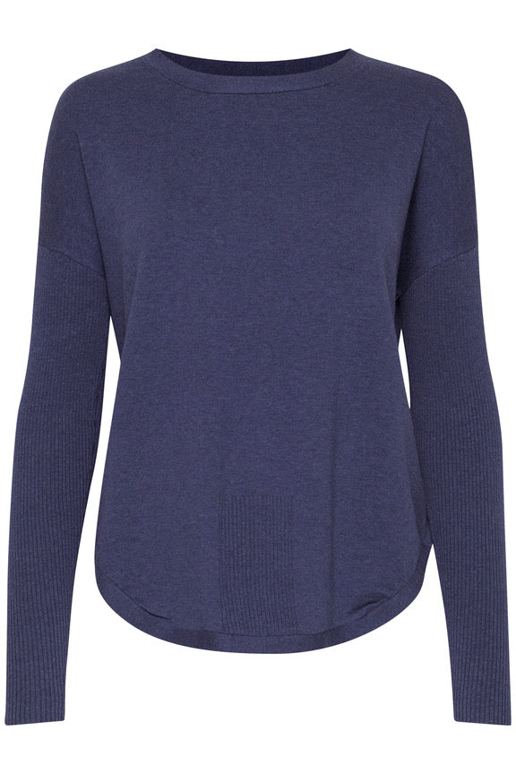 Zuganic Navy Jumper