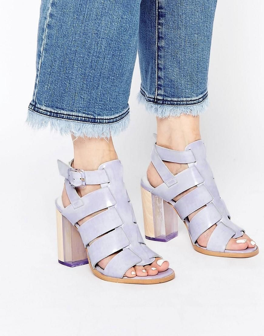 Isabella Lavender Sandals by Miista