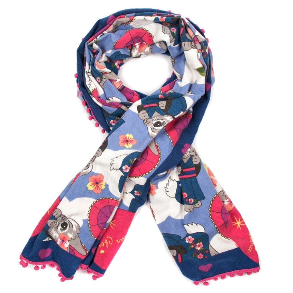 Pom Pom Parade Winter Scarf