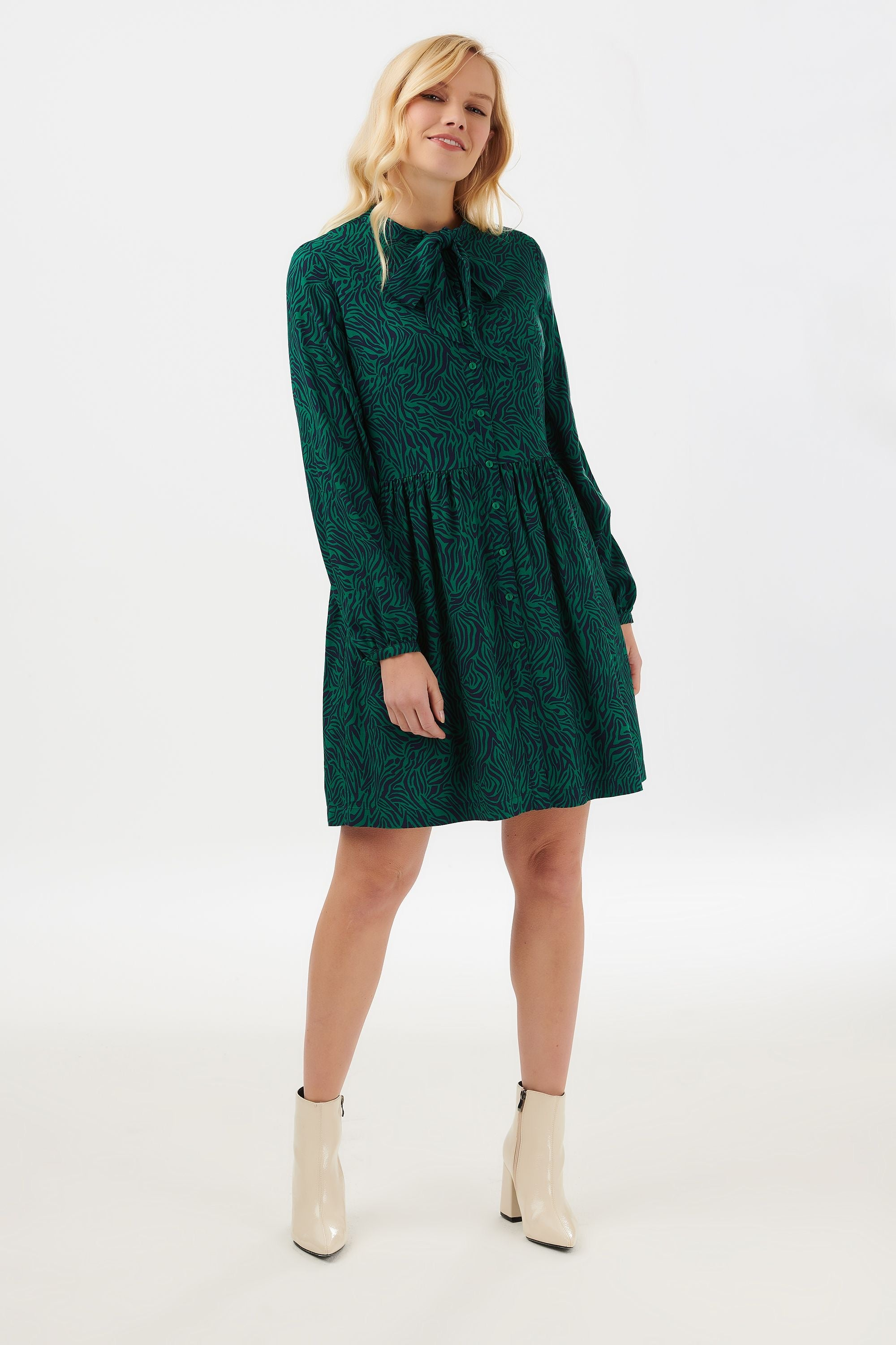 Winna Wild Nights Smock Mini Dress