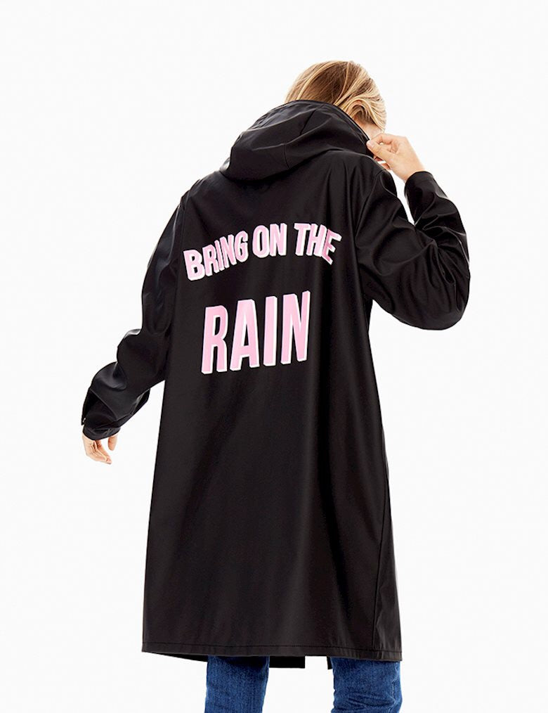 Fabiola Bring On The Rain Raincoat