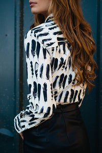 Jay Feather Long Sleeved Shirt