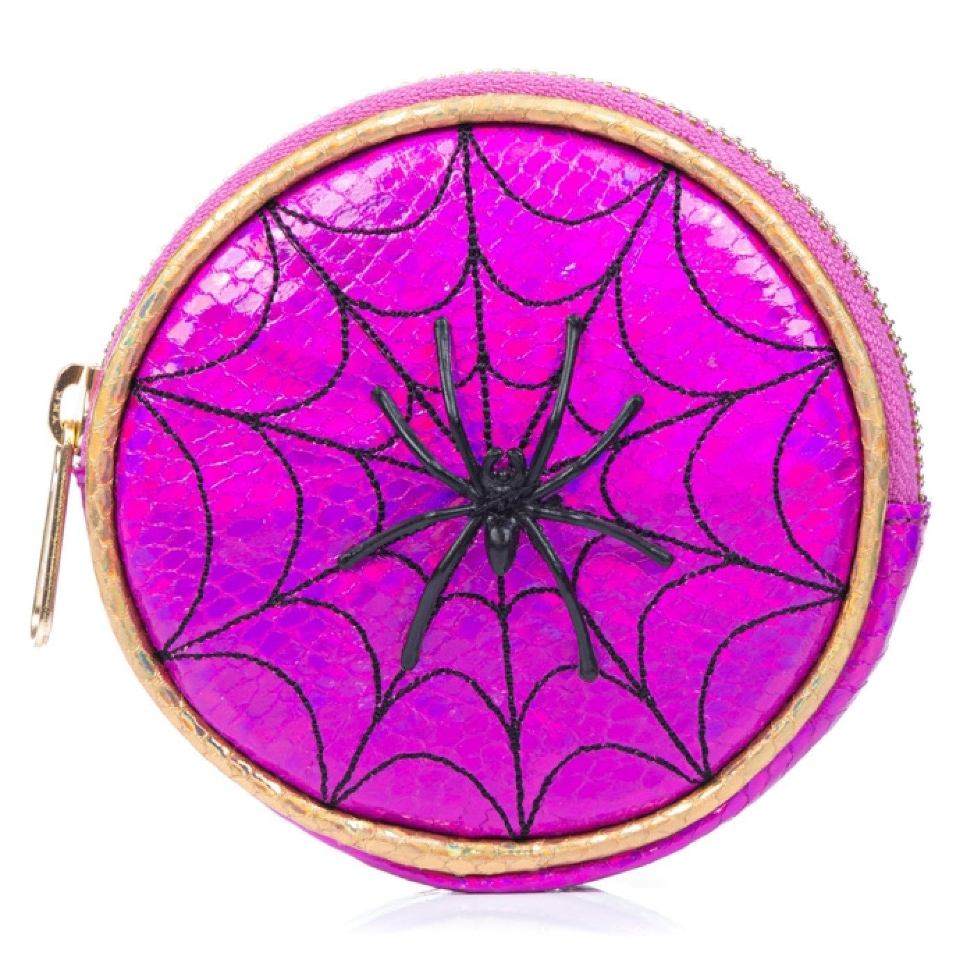 On the Web Purse Pink