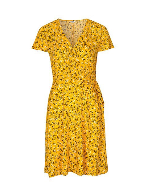 Janne Yellow Dress