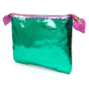 Over The Rainbow Pouch Green