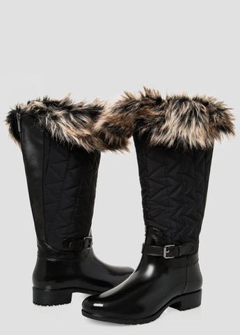 wide calf snow boots