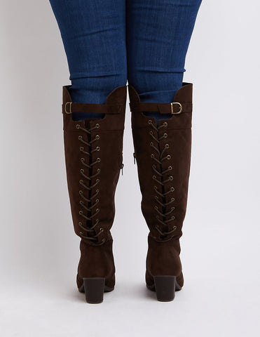 24 Wide Calf Boots For All Of Your Fall/Winter Needs – Ready To Stare