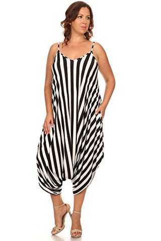 Plus Size Travel Essentials from Amazon - Harem Jumpsuit