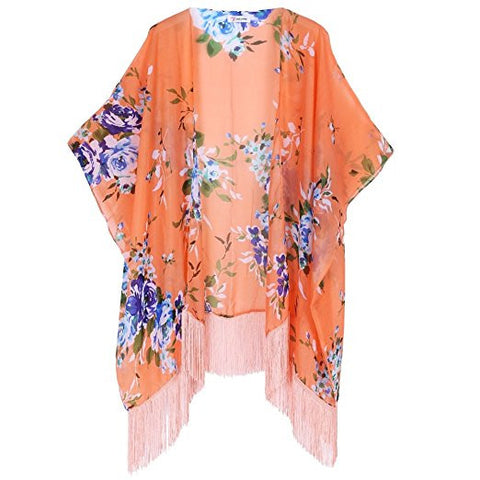 Plus Size Travel Essentials from Amazon - Floral Kimono