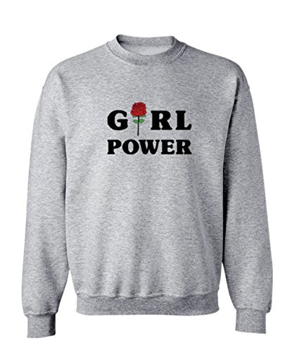 Plus Size Girl Power Sweatshirt