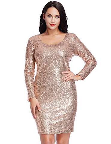 Plus Size Holiday Clothes: Dripping in Sequins – Ready To Stare