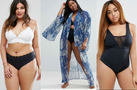 32 Places to Shop for Plus Size Swimwear - ASOS