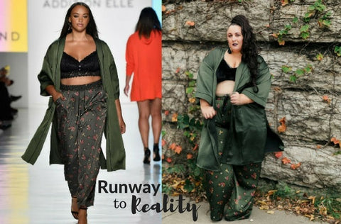 Plus Size Fashion: Runway to Reality with Jordyn Woods x Addition Elle