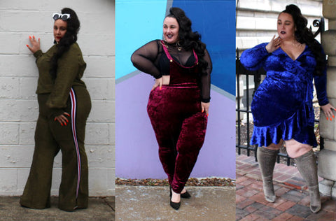 Plus Size Holiday Glamour with Aura Bazaar