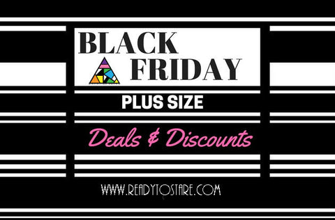 Black Friday Plus Size Deals & Discounts