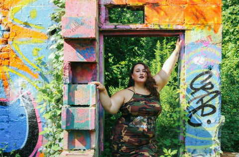 Welcome to the Jungle with Rainbow Plus Size