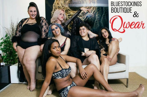 Creating Queer/Trans Inclusive Imagery with Bluestockings Boutique & Qwear