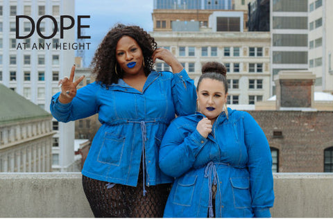 Dope At Any Height: Petite Plus Size and Tall Fashion
